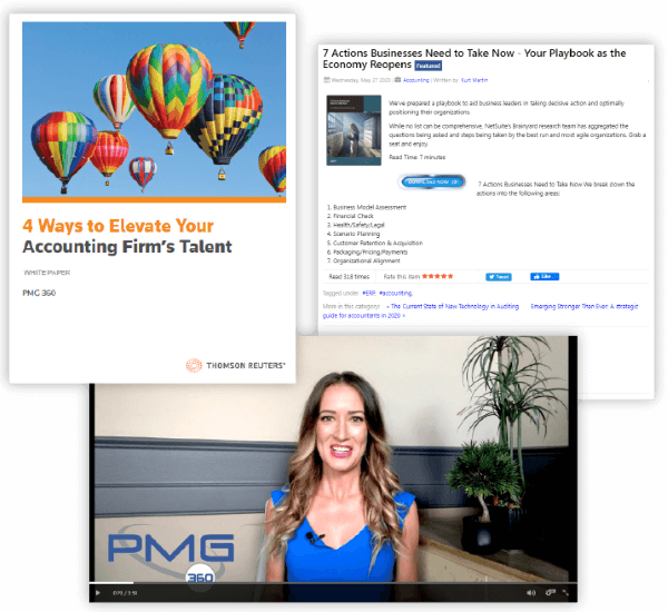 PMG360 content creation for B2B companies in the USA
