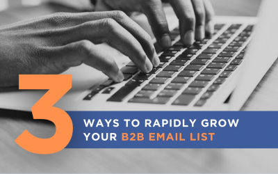 3 unique ways to Rapidly Grow Your B2B Email List